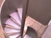 2000-055 Escalera Caracol barandilla chapa