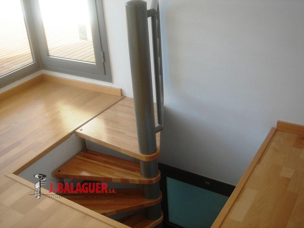 Colecci n del modelo m64 escaleras balaguer - Escalera caracol exterior ...