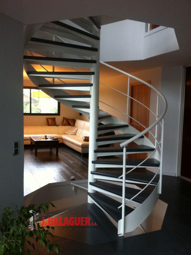 Escaleras caracol madera mod mgd madera escaleras balaguer - Escaleras balaguer ...