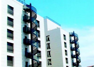 Galeria de escaleras de emergencia caracol escaleras for Escaleras de emergencia
