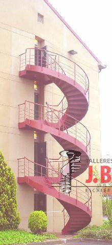 Escaleras Emergencia en Caracol