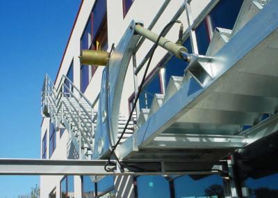 Escaleras de emergencia Hidráulicas