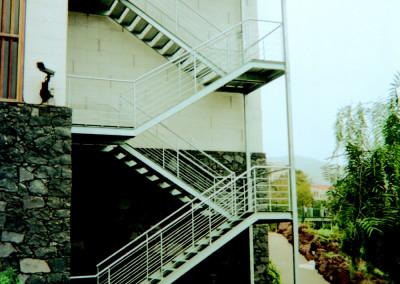 Escalera Emergencia Tramos Rectos