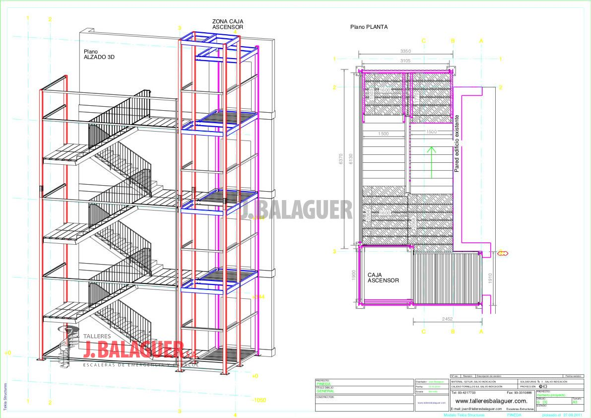 Ingenieria Escaleras Balaguer ~ Dimensiones Escalera De Caracol