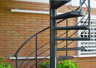 Escaleras caracol metalicas M4