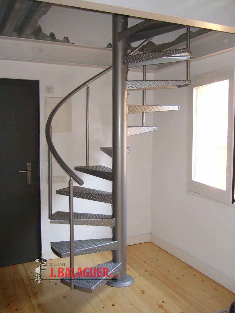 Modelo m47 escaleras balaguer - Escaleras de caracol barcelona ...