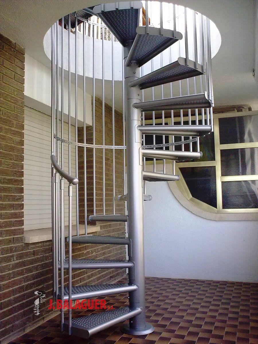 Modelo m47g escaleras balaguer for Escaleras de caracol