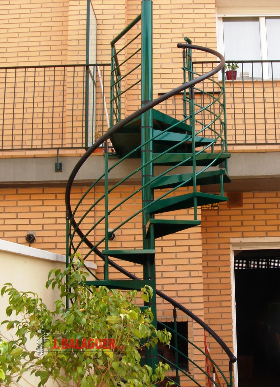Modelo M7 Escaleras Balaguer ~ Dimensiones Escalera De Caracol