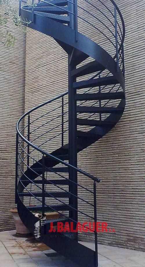 Modelo mgd met lica escaleras balaguer - Escaleras de caracol metalicas ...
