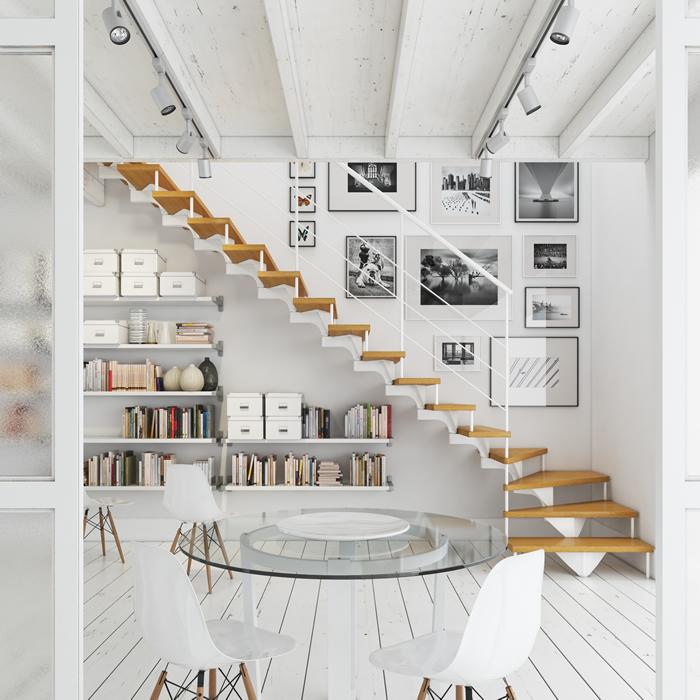 Escaleras para todo tipo de interiores escaleras balaguer - Escaleras interiores casas ...