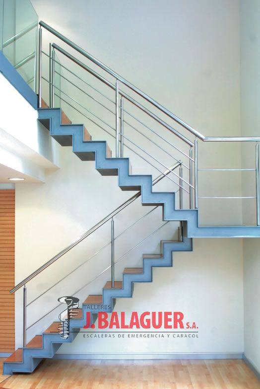 Escala habitare zic zac escaleras balaguer for Escala o escalera