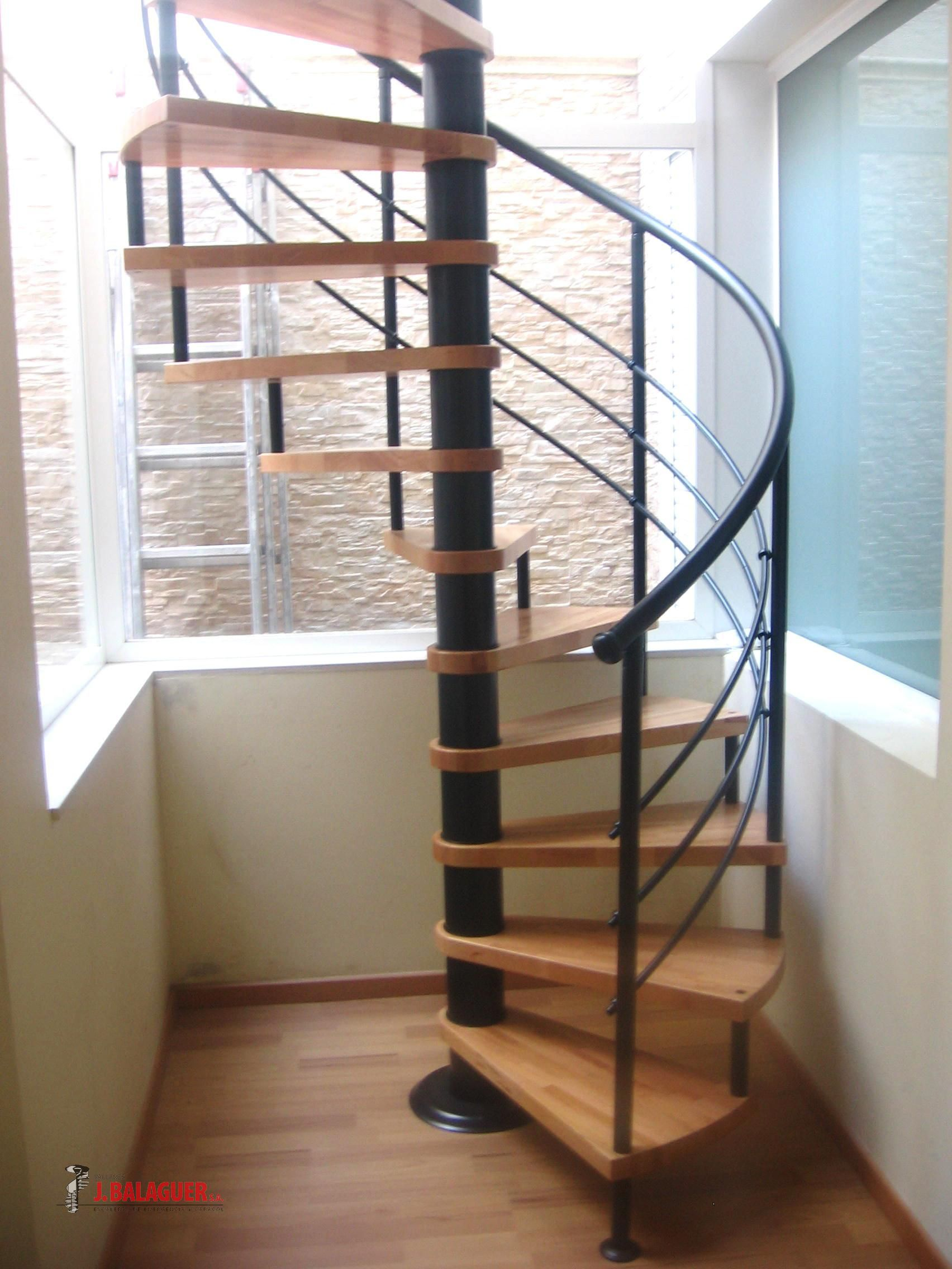Model m6 escaleras balaguer - Escaleras de caracol de madera ...